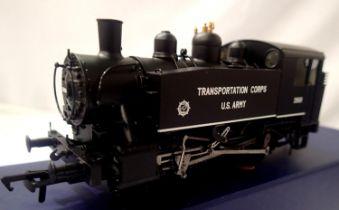 Bachmann MR101, USA class, 0.6.0.T, 1968 US Army Transportation Corps, Black, Model Rail