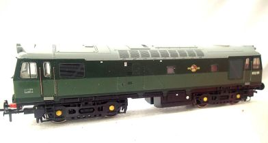 Bachmann renumber D5299 BR Green, Late Crest, in very good to excellent condition, unboxed. P&P