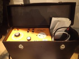 Portable appliance tester TEM 4600, cased with instructions and accessories, working at time of