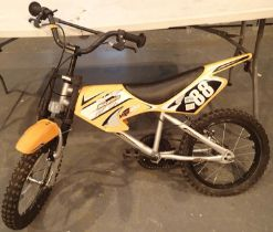 Childs MXR450 Motorbike, single speed, 10'' frame bike. Not available for in-house P&P, contact Paul