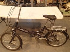 Raleigh EVO7ST 7 gear 12'' frame folding stopper bike. Not available for in-house P&P, contact