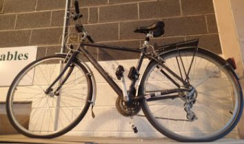 Gents Ridgeback Velocity 18 gear 19'' frame bike. Not available for in-house P&P, contact Paul O'Hea