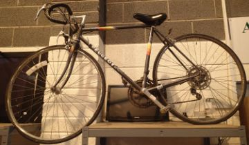 Peugeot 10 gear 20'' frame racing bike. Not available for in-house P&P, contact Paul O'Hea at