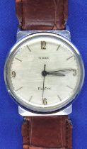 Timex; gents vintage Electric wristwatch, not working at lotting. P&P Group 1 (£14+VAT for the first