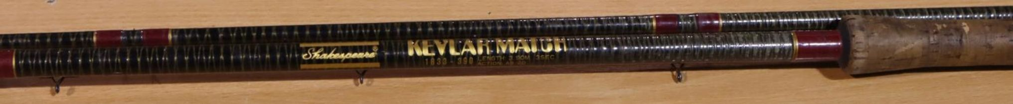Vintage 13ft kevlar tip rod. P&P Group 3 (£25+VAT for the first lot and £5+VAT for subsequent lots)