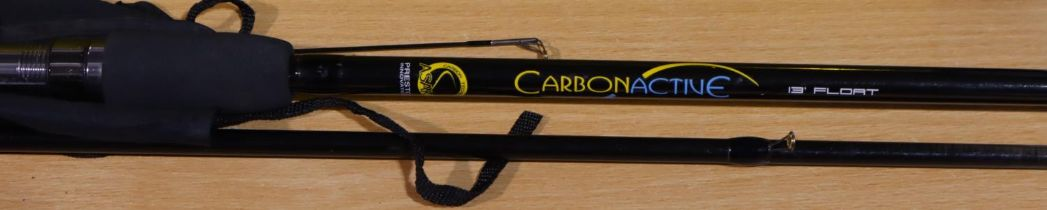 Carbon Active 13ft float rod in excellent condition. P&P Group 3 (£25+VAT for the first lot and £5+