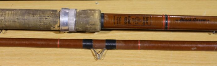 Vintage Edgar Sealy collectors float rod. P&P Group 3 (£25+VAT for the first lot and £5+VAT for