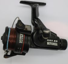 Mitchell 1160RD fixed spool fishing reel. P&P Group 2 (£18+VAT for the first lot and £3+VAT for
