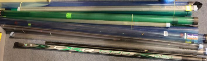 Mixed rod tubes including Daiwa, Preston innovations and others. Not available for in-house P&P,