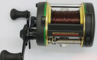 ABU Ambassadeur 6500 GR fishing reel. P&P Group 2 (£18+VAT for the first lot and £3+VAT for