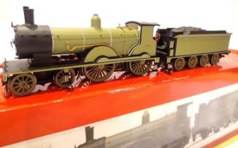 Hornby R2892 Class T9, L.S.W.R. Green, 120, Hornby Collectors Club exclusive, 1076/1500, in very