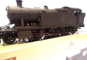 Hornby R3126, Class 62XX, 5243, BR Black, Late Crest, weathered, in excellent to very near mint