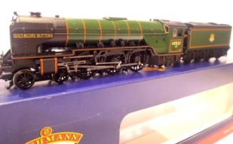 Bachmann 31-526, Class A2 Bachelors Button 60537, BR Green, Early Crest, in very near mint