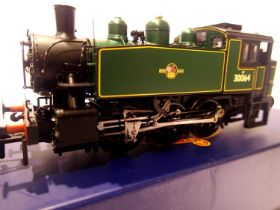 Bachmann MR104, VSA Class 0.6.0 Tank, BR Lined Green, 30064, Late Crest, Model Rail Exclusive, in