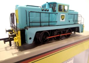 Oxford Rail GV2014 Janus 0.6.0, Diesel, BP Blue, in excellent to very near mint condition, boxed.