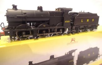 Hornby R3313 Class 4F, LMS Black 4323, in excellent condition, missing detail pack, boxed. P&P Group