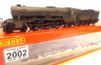 Hornby R2536 Class A1 rename/number 70081 Shotover, BR Green, Early Crest, Heavy Weathering, in