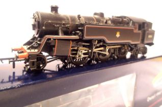Bachmann 32-350, Class 4MT 80061, Black, Early Crest, brake rod fitted, in excellent condition,