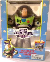 Disney Buzz Lightyear talking action figure H: 30 cm, boxed. P&P Group 3 (£25+VAT for the first