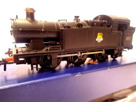 Bachmann 32-085, Class 56XX, BR Black, 6639, Early Crest, in very near mint condition, boxed. P&P
