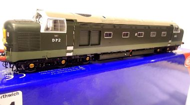 Heljan 40111, English Electric DP2, Prototype, BR Green, limited edition 2000pcs. P&P Group 1 (£14+