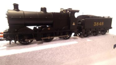 Bachman 31-883 Class 4F, Midland Railway Black, 3848, in very near mint condition, boxed. P&P