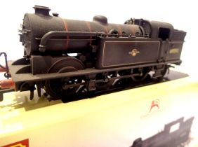 Hornby 3188, renumber 69592 BR Black, Late Crest, weathered, no detail pack, in excellent condition,