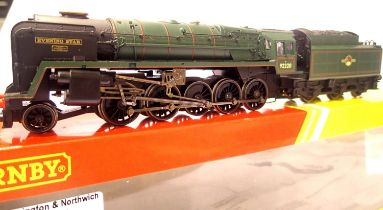 Hornby R2785, Evening Star 92220, BR Green, Late Crest, in very near mint condition. P&P Group 1 (£