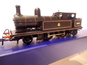 Bachmann 31-166 LYR 2.4.2. Tank, 50636, BR Black, Early Crest, in very near mint condition, boxed.