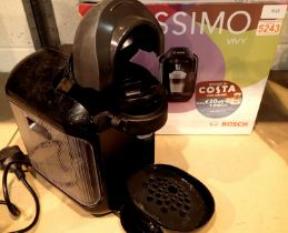 Bosch Tassimo coffee machine, boxed. Not available for in-house P&P, contact Paul O'Hea at Mailboxes
