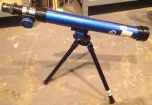 Tele-science Astronomical Discovery Kids telescope, F=500mm D=40mm; with extra eyepiece and