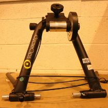 Cycle Ops training rig. Not available for in-house P&P, contact Paul O'Hea at Mailboxes on 01925