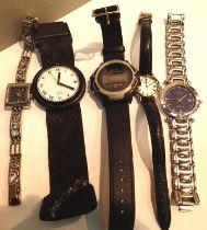 Selection of ladies and gents fashion wristwatches. P&P Group 1 (£14+VAT for the first lot and £1+