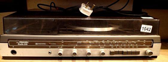 Vintage Ferguson studio 20d music centre radio cassette turntable. Not available for in-house P&P,