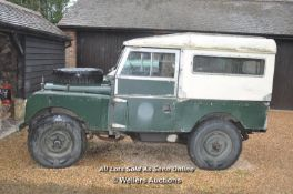 1957 LAND ROVER LIGHT 4 X4 UTILITY VEHICLE (678 EPD) DIESEL