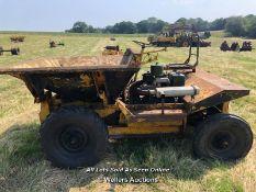 2 WHEEL DRIVE DUMPER (AGW 845C) WITH PETTER ENGINE
