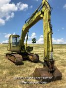 HYMAC 580C DIGGER WITH FORD ENGINE
