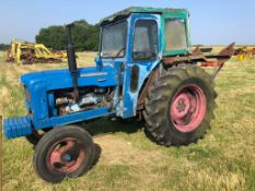 1963 FORDSON SUPER MAJOR (116 WKN) WITH COOKS 12 TONNE 2 SPEED WINCH