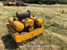 BOMAG 90S TWIN DRUM VIBRATING ROLLER