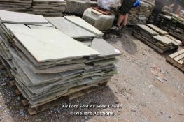 *TWO PALLETS OF INDIAN SANDSTONE, APPROX 20 SQ MRS
