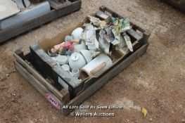 *CRATE OF MIXED PORCELAIN AND CHINA