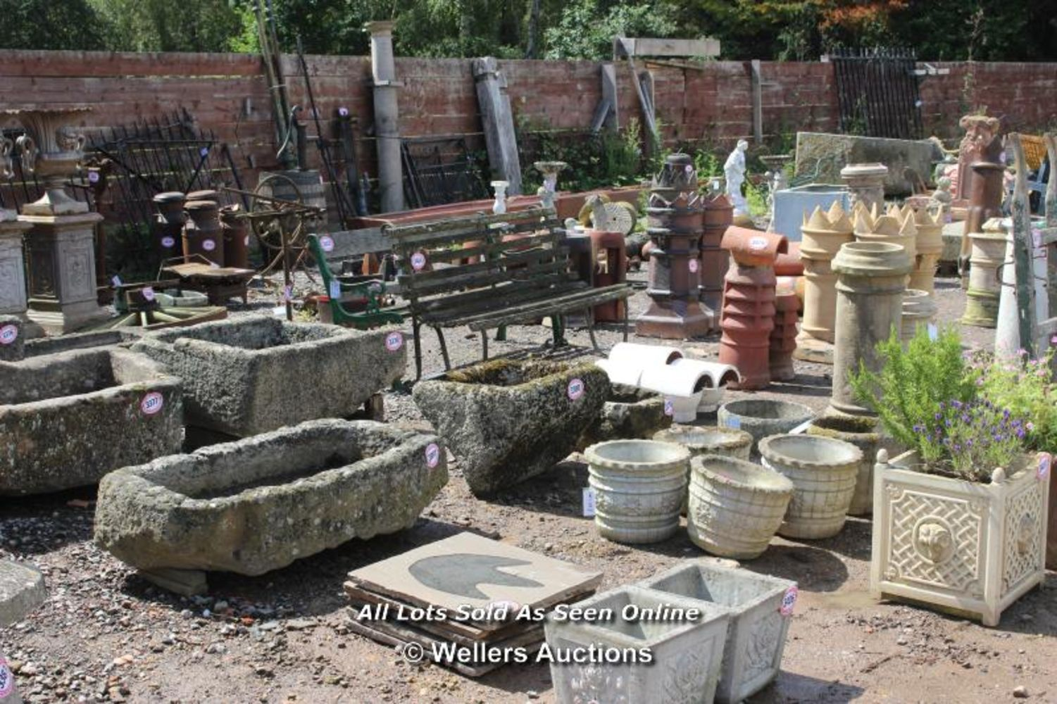 Unreserved clearance auction on behalf of Authentic Reclamation Ltd of architectural antiques, garden features, materials and repro