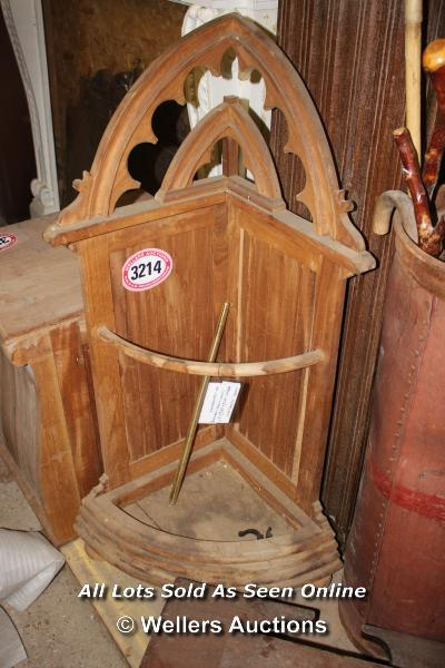 *WALKIING STICK/UMBRELLA CORNER STAND, APPROX 125CM HIGH - Image 2 of 2