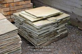 *PALLET OF INDIAN SANDSTONE, APPROX 20 SQ MTRS