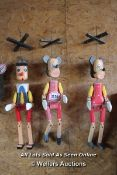 *THREE MARIONETTES, TWO MICE AND A PINOCCHIO