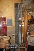 """*PAIR OF 8 FT 3"""" CAST IRON POSTS"""