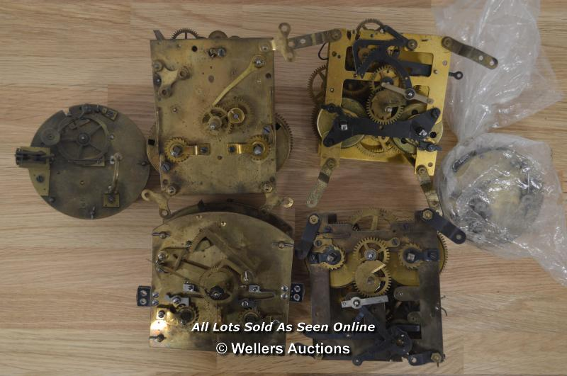 6X VARIOUS MECHANICAL MOVEMENTS,BRASS,RESTORATION AND REPAIR. - Image 2 of 3