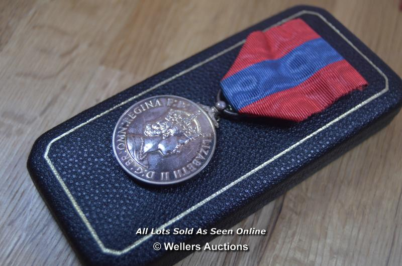 COLLECTION OF BRITISH MILITARY, NATIONAL SERVICE AND COMMEMORATION MEDALS, INCLUDING MINITURES - Image 4 of 8