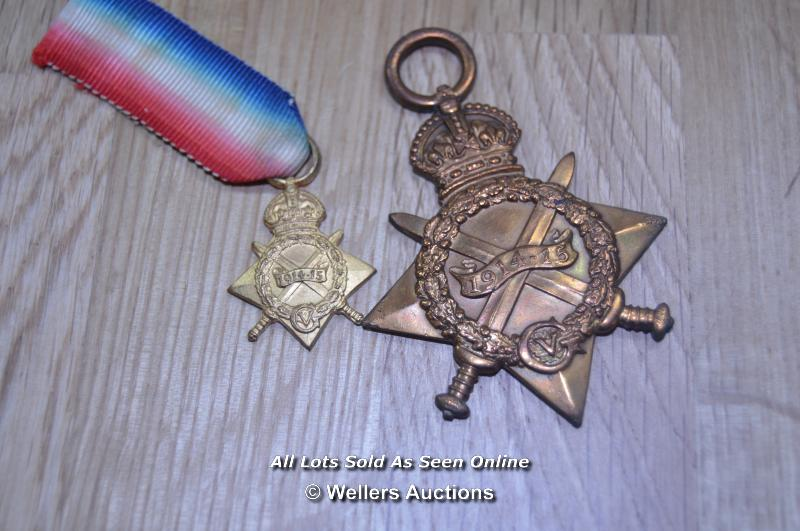 COLLECTION OF BRITISH GREAT WAR IMPERIAL SERVICE MEDALS INCLUDING 2X MINITURES 6X FULL SIZE MEDALS - Image 5 of 6