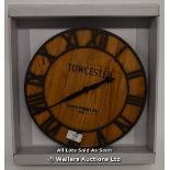 ACCTIM, TOWCESTER ,QUARTZ , ANALOGUE, WALL CLOCK / APPEARS TO BE NEW - OPENED BOX